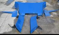 Spoilerset TGA LX neuwertig blue MAN