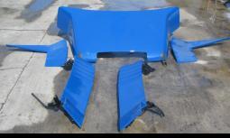 Spoilerset TGA LX neuwertig blau MAN